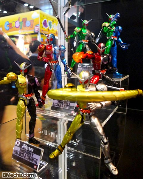 Anime Festival Asia X - S.H.Figuarts and S.I.C. Mask Rider Sales