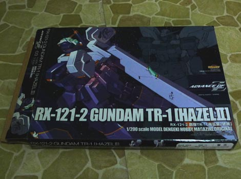 Gundam Advance of Zeta 1/200: Gundam TR-1 Hazel II (Dengeki Hobby Freebies)