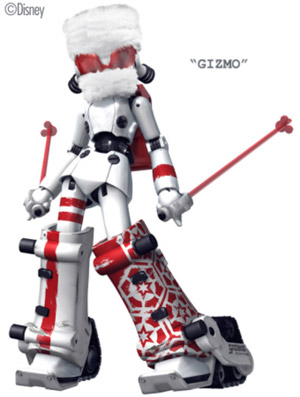 Limited edition Figma Drossel Winter version