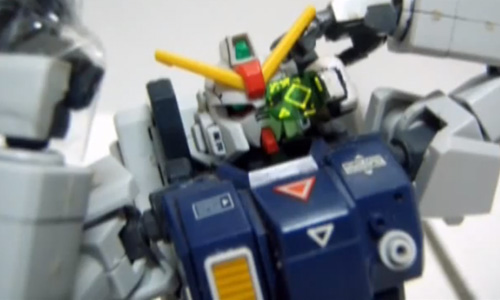 Gundam Gun Battles Stop Motion Video
