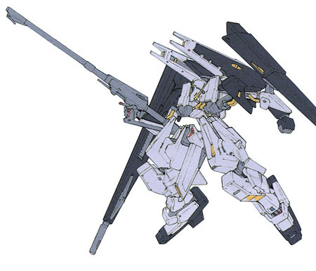Advance of Z Mobile Suits: Gundam TR-6 [Gaplant II]