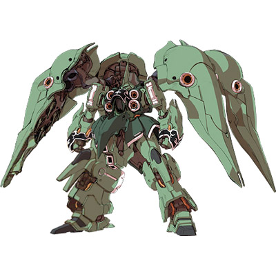 Gundam Unicorn Anime: NZ-666 Kshatriya