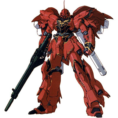 Gundam Unicorn Anime: MSN-06S Sinanju