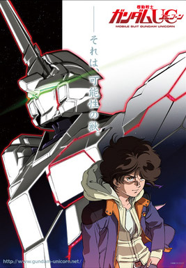 Mobile Suit Gundam Unicorn (UC) Anime poster