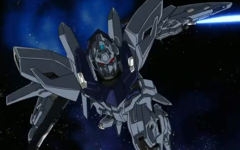 Delta Plus from Gundam Unicorn (UC) Episode 3 Trailer Video