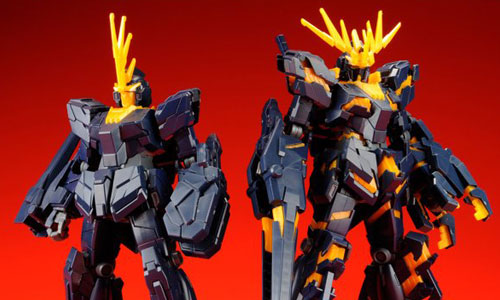 HGUC 1/144 RX- 0 Unicorn Gundam 02 Banshee (Destroy Mode and Unicorn Mode)