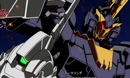 Mobile Suit Gundam Unicorn (UC) Episode 5 Promotion Video trailer - Unicorn VS Banshee