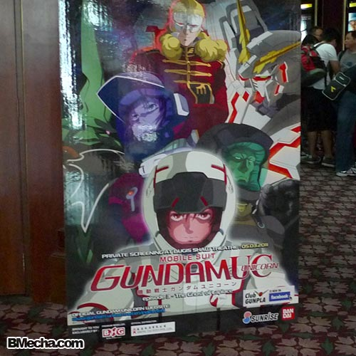 Gundam Unicorn Anime Episode 3 Screening in Singapore