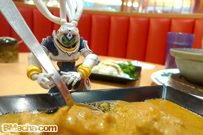 Overman King Gainer with Curry Noodle