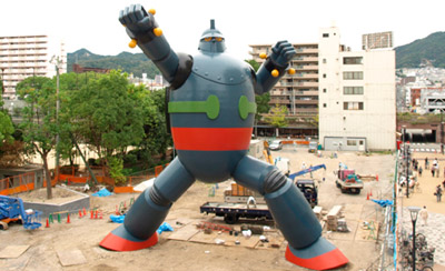 Kobe's life size Tetsujin 28-go completed