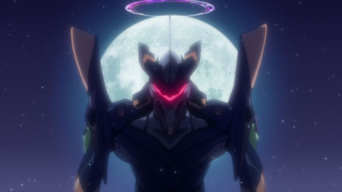 Kaworu Evangelion 06 in EVA 2.22 anime movie