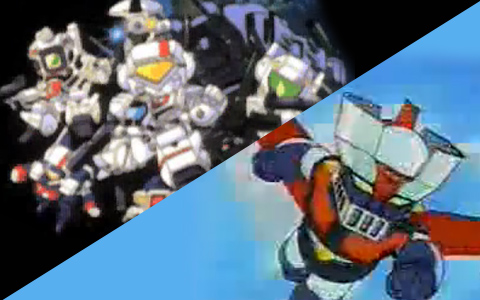 SD Mazinger Z and Macross Anime Clips