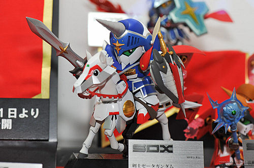 Bandai SDX Gundam Knight Zeta at Tamashii 2010 Exhibition