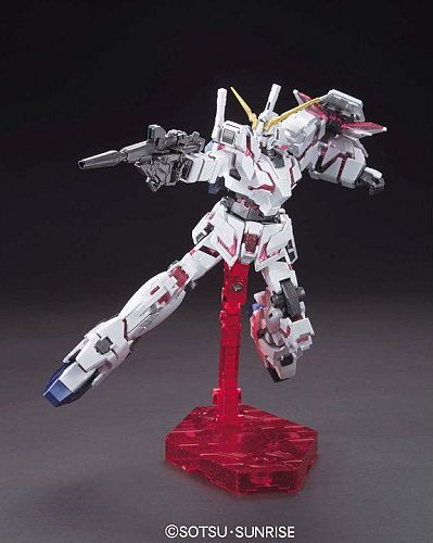 HGUC 1/144 RX-0 Unicorn Gundam Destroy Mode Titanium Finish Version