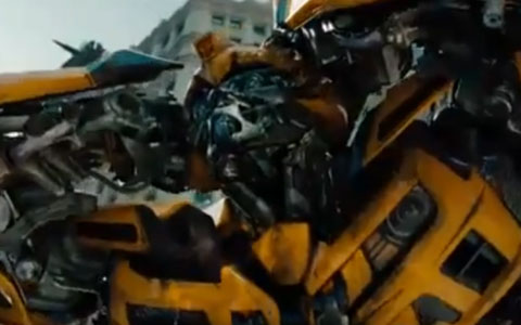 Bumblebee in Transformers 3 Trailer 2011
