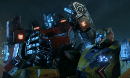 Transformers Fall of Cybertron - Autobots Optimus Prime &#038; Bumblebee