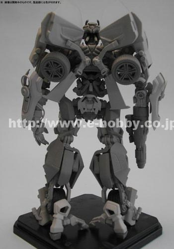 Transformers Movie Optimus & Bumblebee Plastic Model