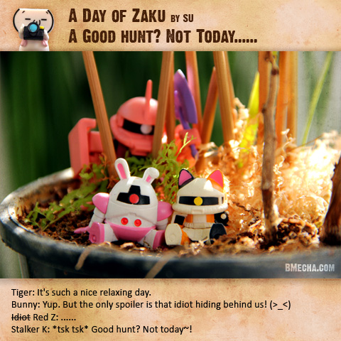 A day of Zaku: A good hunt? Not today!